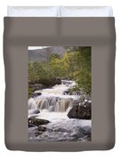 Waterfall In The Highlands Duvet Cover