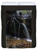 Waterfall On Emory Gap Branch Duvet Cover