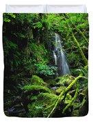 Waterfall, Sloughan Glen, Co Tyrone Duvet Cover