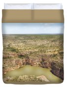 Waterfall Twins Duvet Cover