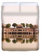 Waterfront Building, Jaipur, India Duvet Cover