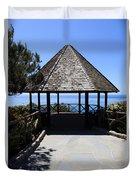 Waterfront Gazebo Duvet Cover