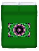 Waterlily Kaleidoscope Duvet Cover