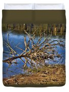 Waterlogged Tree Duvet Cover