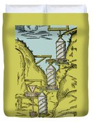 Watermill Reversed Archimedean Screw Duvet Cover