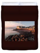 Waterside At Exmouth Duvet Cover