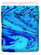 Waves Of Abstraction Duvet Cover