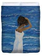 Waves Of Beauty Duvet Cover