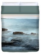 Waves On The Coast Duvet Cover