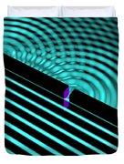 Waves Two Slit 4 Duvet Cover