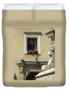 Wawel Flower Box And Achitecture Duvet Cover