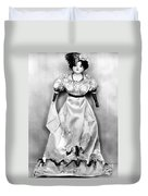 Wax Doll, C1820 Duvet Cover