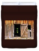 Weathered Barn Door Duvet Cover