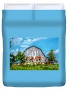 Weathered Barn Duvet Cover