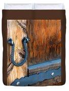 Weathered Door Duvet Cover