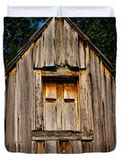 Weathered Structure Duvet Cover