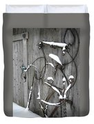Weathered Tools Duvet Cover