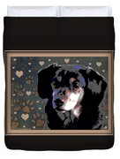 Wee With Love Duvet Cover