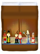 Wee Wooden People Duvet Cover