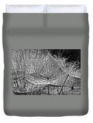 Weed Wandering Monochrome Duvet Cover