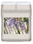 Weeping Wisteria Duvet Cover