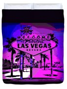 Welcome To Vegas No.2 Duvet Cover