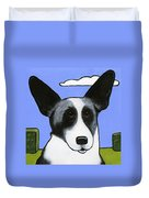 Welsh Cardigan Corgi Duvet Cover