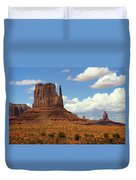 West Mitten Butte Duvet Cover