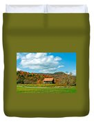 West Virginia Homestead Duvet Cover