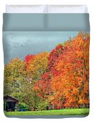 West Virginia Maples 2 Duvet Cover