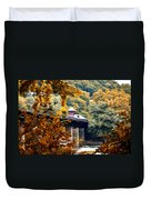 West Virginia Morn Duvet Cover by Bill Cannon
