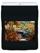 West Virginia Morn Duvet Cover