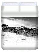 Western Ireland Beach Duvet Cover