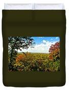 Weston Bend Fall Colors Duvet Cover