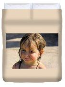 Wet Holly Duvet Cover