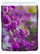 Wet Purple Duvet Cover