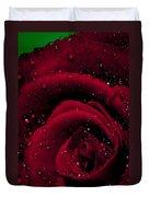 Wet Rose Duvet Cover
