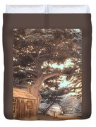 Whaler's Cabin Duvet Cover by Jane Linders