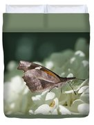 What A Schnoz On That American Snout Butterfly Duvet Cover