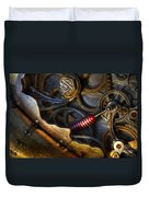 What Gear Am I In You Might Ask Duvet Cover by Bob Christopher