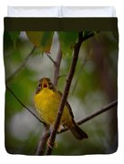 What Warblers Do Duvet Cover