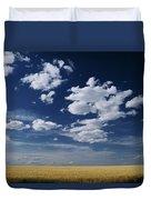 Wheat Field, Central Washington Duvet Cover