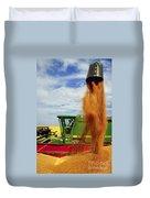 Wheat Harvest Duvet Cover
