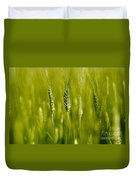 Wheat On The Field Duvet Cover