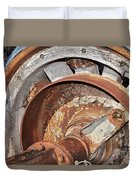 Wheel And Axle Duvet Cover