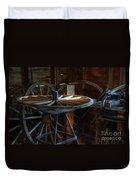 Wheeler Dealer Duvet Cover by Bob Christopher