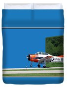 Wheels Up Duvet Cover