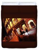 When In Rome Duvet Cover