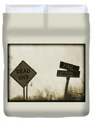 Which Road To Take Duvet Cover