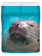 Whiskers Of A Seal Duvet Cover